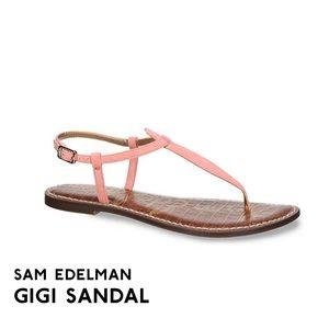 Sam Edelman pink Gigi sandals